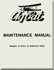 Grumman American G-146 A, B , C  Aircraft Maintenance Manual  1977