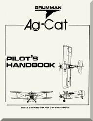 Grumman American G-146 A, -450, A-600, B-450, B-525  Aircraft Pilot Handbook Manual  1977