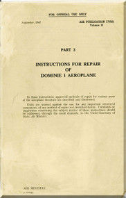 De Havilland Dominie I Aircraft Maintenance Manual