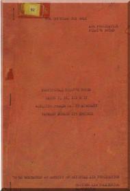 De Havilland Mosquito Mk. 35 Aircraft  Pilot's Notes Manual