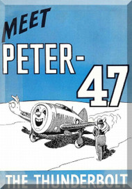 Republic P-47G Aircraft  Meet Peter Short Instruction  Manual   1942