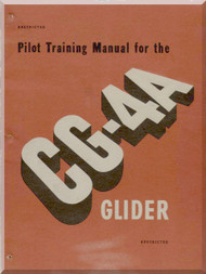 Primary Flight  Manual Aircraft CG-4A Glider