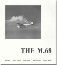 Miles  Aerovan M.68  Aircraft  Technical Brochure Manual