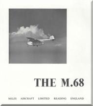 Miles  Aerovan M.68  Aircraft  Technical Brochure Manual