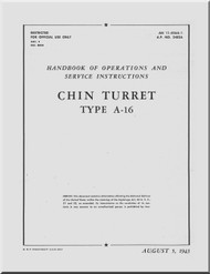 Bendix Chin A-16 Turret Aircraft Service Manual