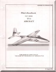 TEMCO TT-1  Pinto Aircraft Flight   Manual 01-270KAA-501 - 1958