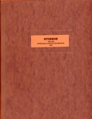 Stinson Model 108 150  Aircraft Operating Manual