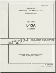Stinson L-13 A Aircraft Erectiom and Maintenance Manual - 01-5DAA-2 - 1948