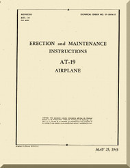 Stinson  AT-19  Aircraft Erection and Maintenance  Manual , T.O. 01-50KA-2,   1943