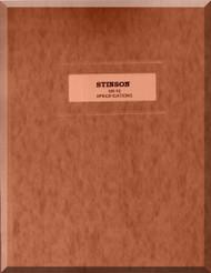 Stinson SR-10 Aircraft Specification Manual