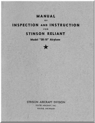 Stinson SR-10 Aircraft Inspection Manual