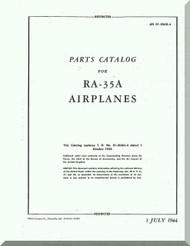 Vultee RA-35 A  Aircraft Illustrated Parts  Manual - 01-50D-4 - 1944