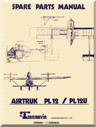 Transavia AirTruk PL 12 PL 12 U Spare Parts Manual