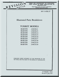 Martin 250CE113, ... 330  Gun Turrets Aircraft Parts Manual