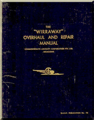 Commonwealth  Wirraway  Aircraft  Overhaul and Repair  Manual