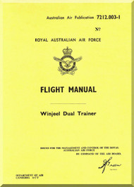 Commonwealth Winjeel Aircraft Flight Manual