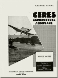 Commonwealth  CA-28  Aircraft  Flight  Manual -  PN CA-28-5