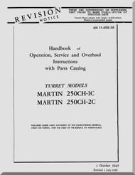 Martin 250CH-1C, -2C  Gun Turret Aircraft  Manual