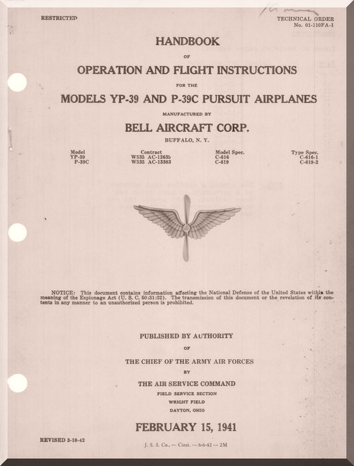 Bell Aircraft Manuals