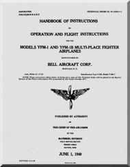 Bell YFM-1B  Aircraft Handbook of Instructions - Operation and Flight instructions