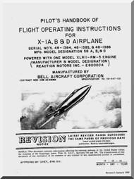 Bell X-1 A, B & D Aircraft Flight Manual
