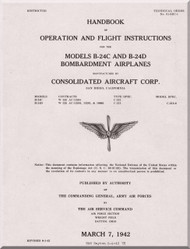 consolidated aircraft flight manual