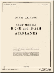 Consolidated Aircraft B-24 Parts Catalog Manual