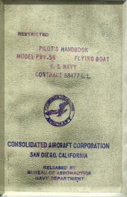 Consolidated PBY-5B,  Pilot's Handbook  Manual -   1944