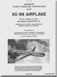Convair Aircraft Manual