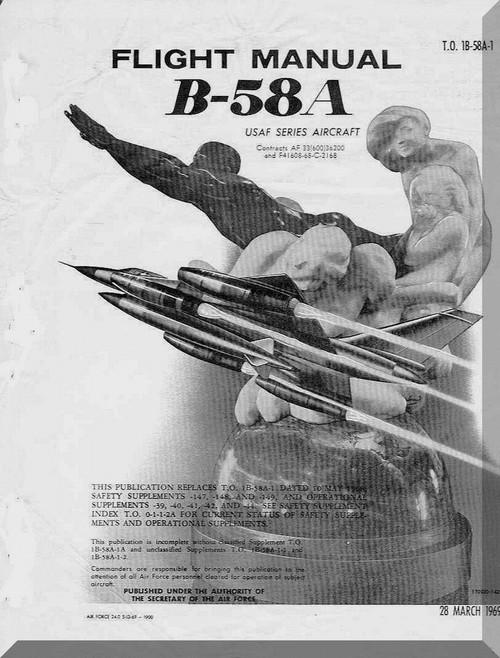 B-58 Flight Manual