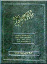 Curtiss P-40 N -  Preliminary Handbook Erection and Maintenace Instructions   -  Rep. 936   - 1943
