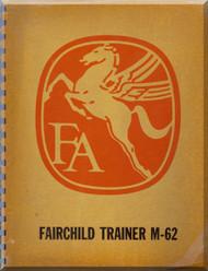 Fairchild M62 Aircraft Technical Brochure Manual .