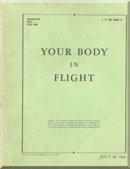 Aircraft Your Body in Flight  Manual  T.O. 00-25-13 -1943