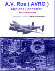 Avro Lancaster Aircraft Blueprints Engineering Drawings - Download