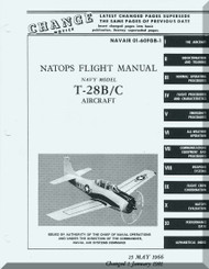 North American Aviation T-28 B / C   Aircraft Flight Manual - NAVAIR 01-60FGB-1,  1966