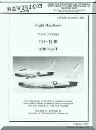 North American Aviation FJ-4, -4B  Aircraft  Flight Handbook - NAV AER  01-60JKD-501 , 1957