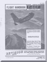 North American Aviation F-86 F  Aircraft Flight  Handbook Manual - T.O. 1F-86F-1 , 1957