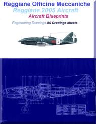 Reggiane 2005 Aircraft Blueprints Engineering Drawings - Download