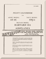 North American Aviation AT-6 C, F  SNJ -4   Harvard II A Aircraft  Pilot's Handbook Manual -  TO 01-60FE-1 - 1944