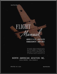 North American Aviation B-25 C, D Aircraft  Flight Manual