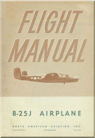 North American Aviation B-25J ,  Aircraft Structural Repair   Manual - NAA Report 5853 , 1944