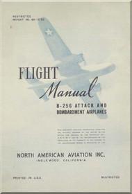 North American Aviation B-25 G Aircraft Flight Manual NA-5736