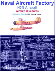 Naval Aircraft Factory N3N Aircraft Blueprints Engineering Drawings - Download