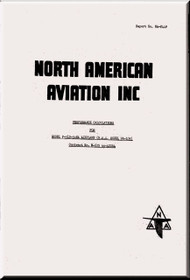 North American Aviation P-51 D Mustang  Aircraft Performance Calculations Manual NA-8449
