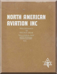 North American Aviation XP-51J Specification Manual -  Report NA-1620 - 1940