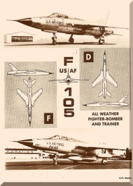 Republic F-105 D  Aircraft Flight Handbook  Manual TO 1F-105D-1