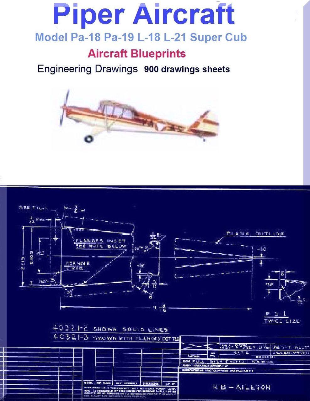 Piper PA-18-150 Super Cub Parts Catalog Manual