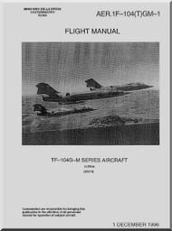 Aeritalia / Lockheed TF-104 G-M Aircraft Flight Manual 1F-104-(T)GM-1 - 1966