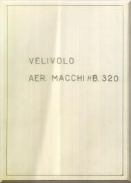 Macchi MB-320 Aircraft Introduction Manual, -  Manuale Introduzione ( Italian Language ) ,