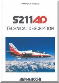 Aermacchi / SIAI Marchetti S.211 AD Aircraft Technical Manual